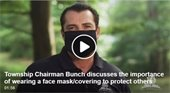 Chairman Bunch Discusses Face Coverings