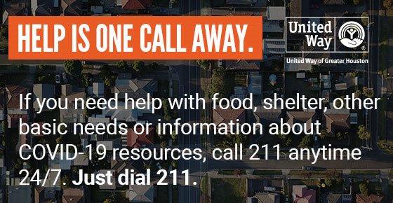 United Way of Greater Houston Helpline