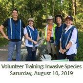 Invasive Species Volunteer Training