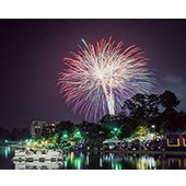 Fourth of July in The Woodlands