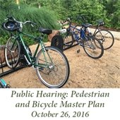 Pedestrian and Bicycle Master Plan Public Hearing