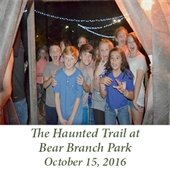 The Haunted Trail at Bear Branch Park