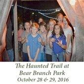 Haunted Trail at Bear Branch