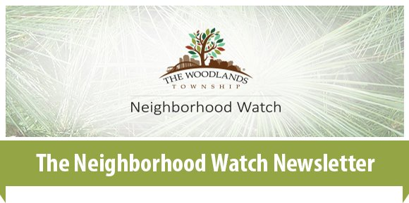 The Neighborhood Watch Newsletter