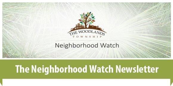 The Neighborhood Watch Newsletter