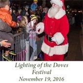 Lighting of the Doves Festival