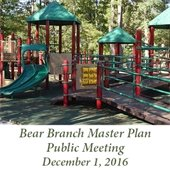Bear Branch Master Plan Public Meeting
