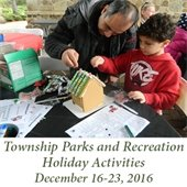 Township Parks and Recreation Holiday Activities