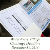 Water-wise Challenge Deadline