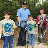 Earth Day GreenUP Volunteers