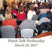 Watch Talk Wednesday