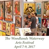 The Woodlands Waterway Arts Festival (April 7-9, 2017)