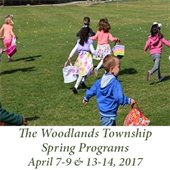 The Woodlands Township Spring Programs (April 7-9 & 13-14, 2017)