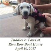 Paddles & Paws at Riva Row Boat House (April 10, 2017)