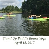 Stand Up Paddle Board Yoga (April 15, 2017)