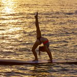 SUP Yoga on the Lake