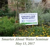 Smarter About Water Seminar (May 13, 2017)