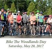 Bike The Woodlands Day (May 20, 2017)