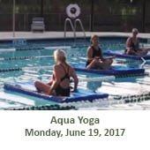 Aqua Yoga (June 19, 2017)
