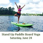 Paddle Board Yoga (June 24, 2017)