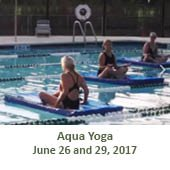 Aqua Yoga  (June 26 and 29, 2017)
