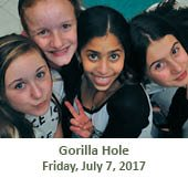 Gorilla Hole (July 7, 2017)