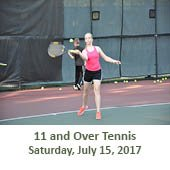 11 and Over Tennis (July 15, 2017)