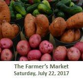 The Farmer's Market at Grogan's Mill (July 22, 2017)