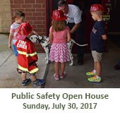 Public Safety Open House at Fire Station #3 (July 30, 2017)