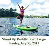 Paddle Board Yoga (July 30, 2017)