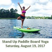 Paddle Board Yoga (August 19, 2017)