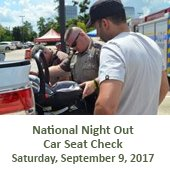 National Night Out Car Seat Check