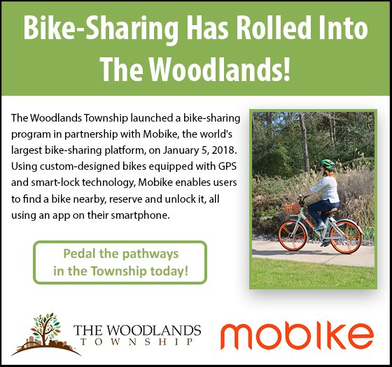Bike-Sharing in The Woodlands