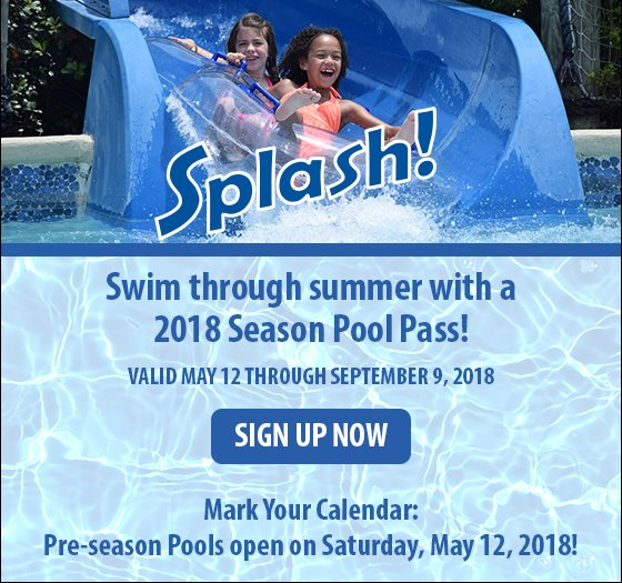 2018 Season Pool Pass