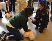 Township Hosts Hands-Only CPR Village Challenge