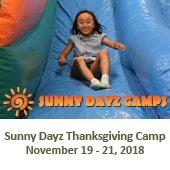 Sunny Dayz Thanksgiving Break Camp