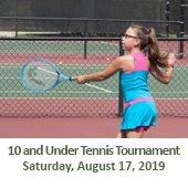 10 and Under Tennis Tournament