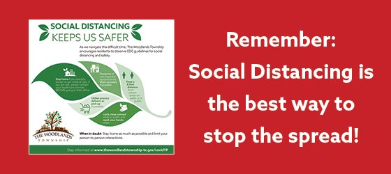 Stop the Spread with Social Distancing