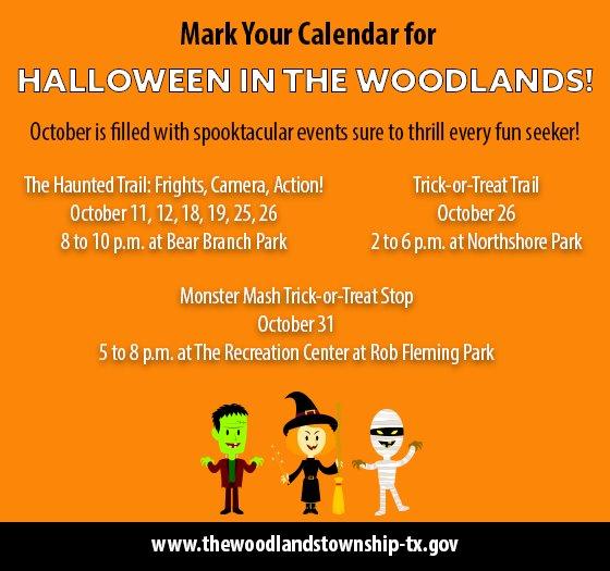 Halloween in The Woodlands