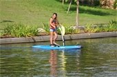 Elliptical Paddleboards at Riva Row Boat House