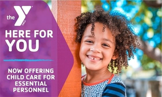 YMCA Operating as an Essential Personnel Child Care Site
