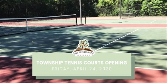 Township Tennis Courts Now Open