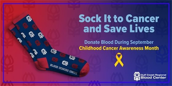 Sock it To Cancer Blood Drive