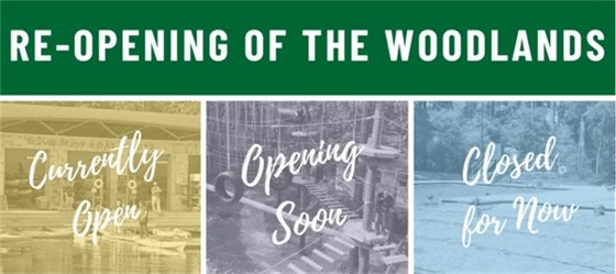 Re-Opening of The Woodlands