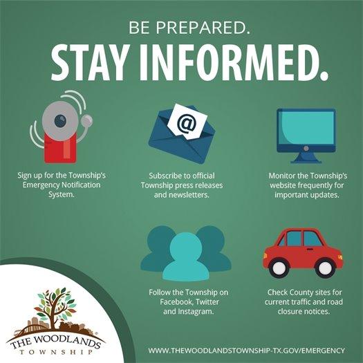Be Prepared. Stay Informed.