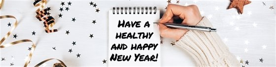 Healthy and Happy New Year