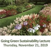 Going Green Sustainability Lecture