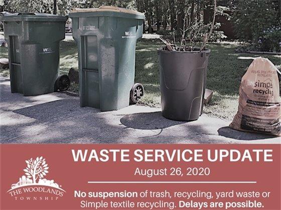 Waste Service Update