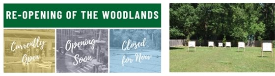 Re-opening The Woodlands