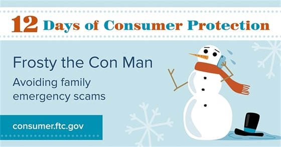 FTC Frosty the Con Man